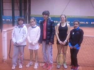 TCAPM - Equipes 13 14 ans filles (2 de droite)