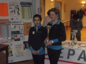 TCAPM - 13-14 ans filles Championnes
