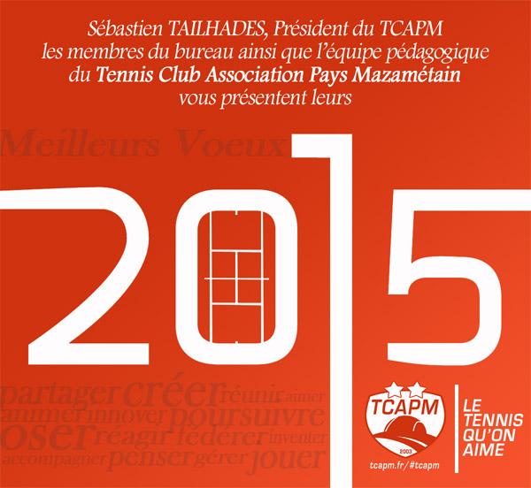 TCAPM - Voeux 2015