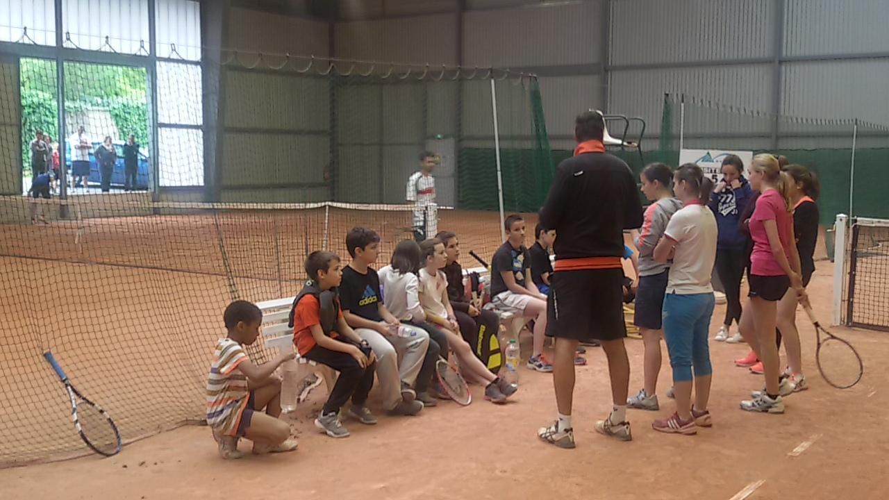 TCAPM - Formation ramasseurs de balles fete du tennis 2015