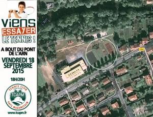 TCAPM - Viens essayer le tennis VISUEL FACEBOOK PLAN BT DU PONT