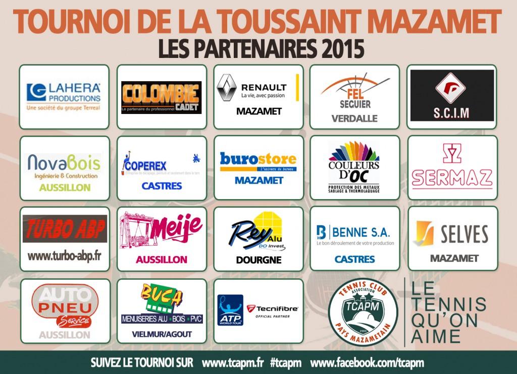 TCAPM - Panneau sponsors Toussaint