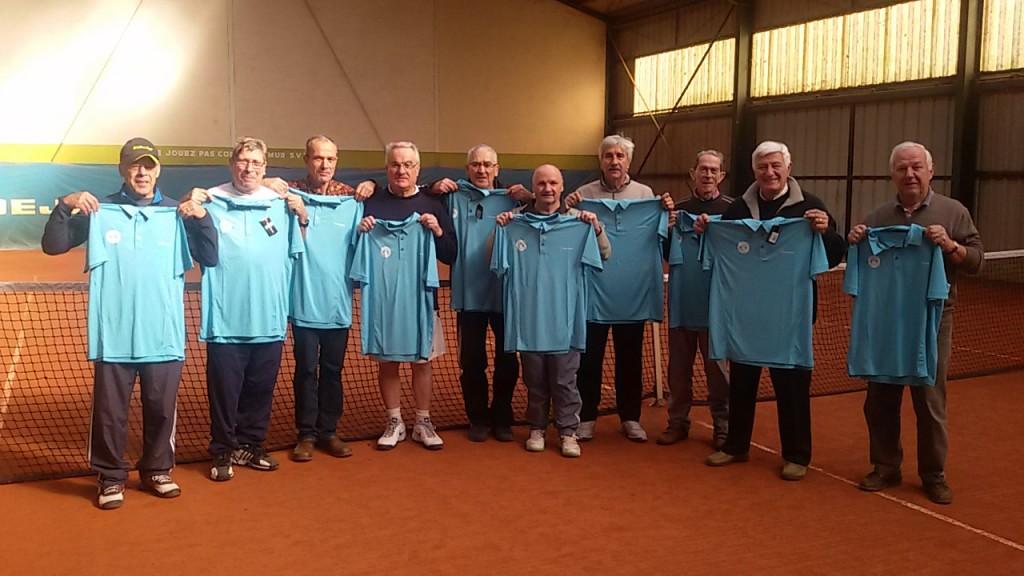 TCAPM - + 65ans remise des maillots