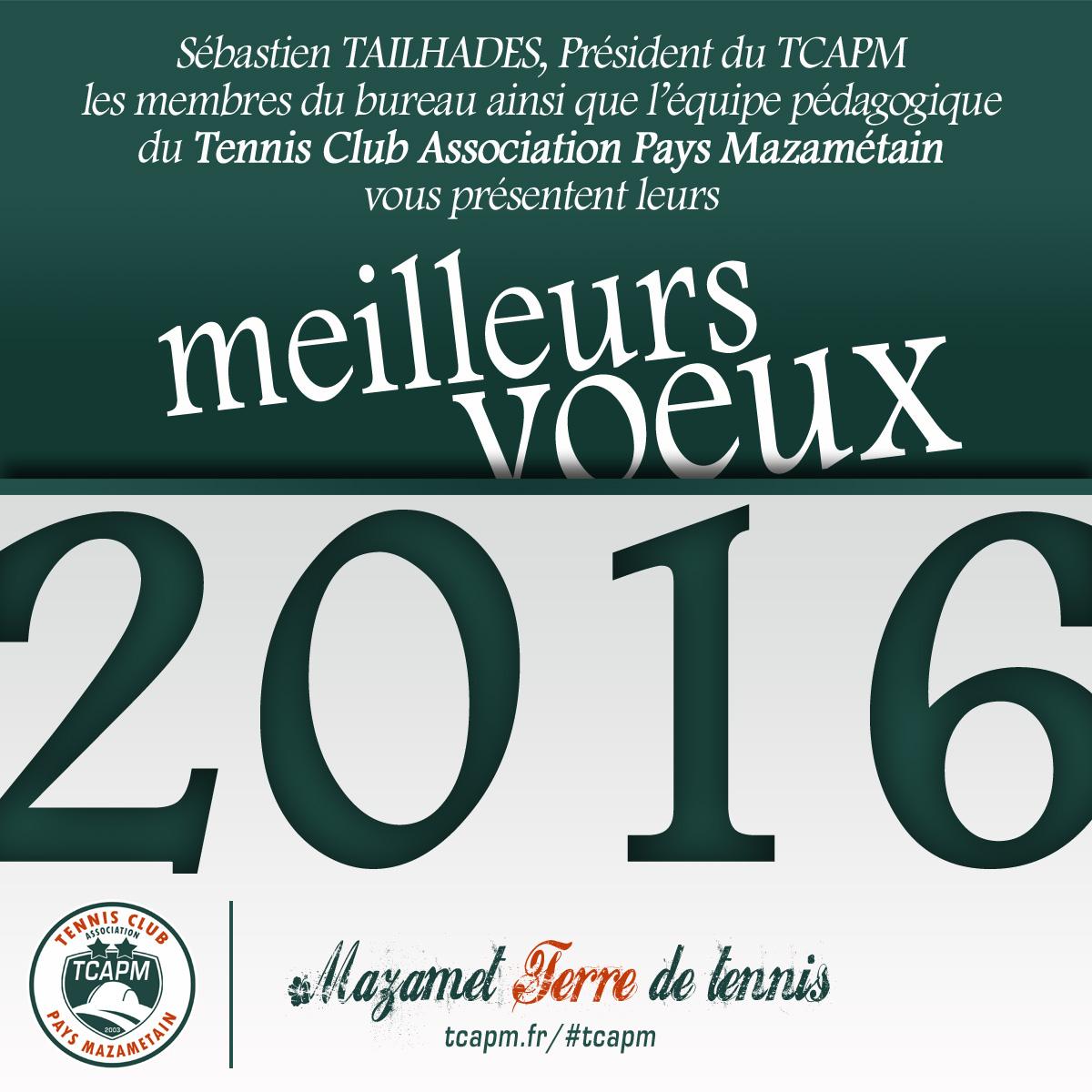 TCAPM - Voeux 2016