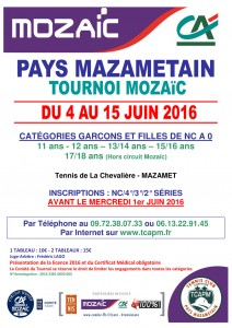 TCAPM - Affiche Mozaïc Pays Mazamétain 2016 pour site