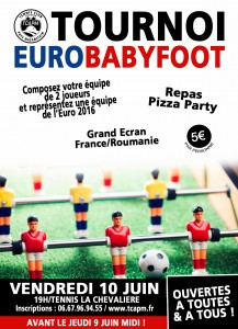 Affiche tournoi eurobabyfoot