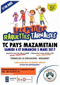 Microsoft Word - TCAPM - Affiche Petites Raquettes Tarnaises mar