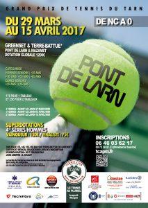TCAPM - Affiche TOURNOI PONT DE LARN 2017 Internet