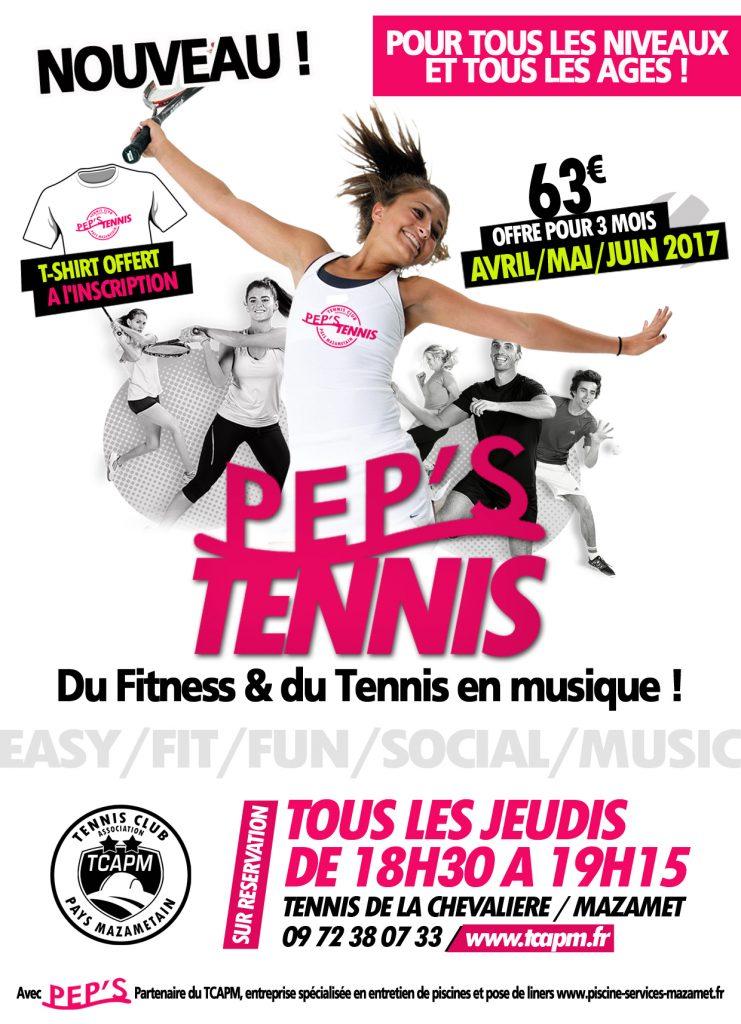 TCAPM - PEPS TENNIS 2017